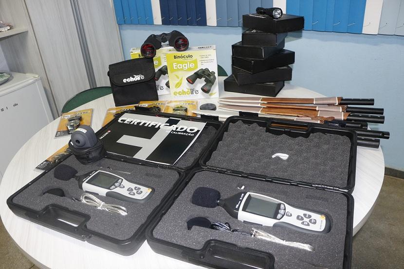 GRUPAMENTO DE PROTEÇÃO AMBIENTAL DA GUARDA MUNICIPAL RECEBE EQUIPAMENTO PARA ATUAR NA CIDADE
